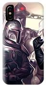 Star Wars Heroes Poster IPhone Case