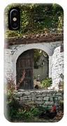 Street In Berat Old Town In Albania IPhone Case