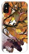 150 Caribou Speed Paint IPhone Case