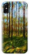 Nature Scenery Oil Paintings On Canvas IPhone Case