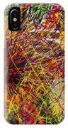 16-10 String Burst IPhone Case
