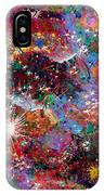 16-2 Yellow Space IPhone Case