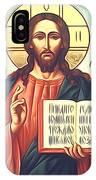 Jesus Christ Catholic Art IPhone Case