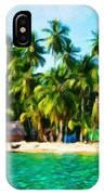 Nature Oil Painting Landscape Images IPhone Case