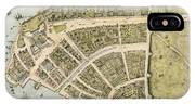 1660 New Amsterdam Map IPhone X Case