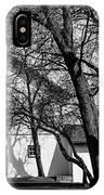 169 Marshfield Wisconsin Farm B W IPhone Case