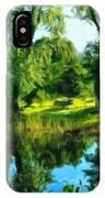 Landscape Painted IPhone Case