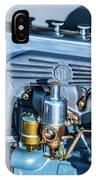 1743.046 1930 Mg Engin Plate IPhone Case