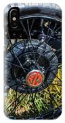 1743.051 1930 Mg Wheel IPhone Case