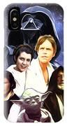 Star Wars Saga Art IPhone Case