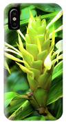 Yellow Ginger IPhone Case