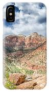 Zion Canyon National Park Utah IPhone Case