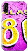 180 Santiago Pinked  IPhone Case