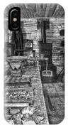 1860's Ore Assay Office Shop - Montana IPhone Case