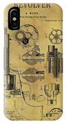 1875 Revolver Patent IPhone Case