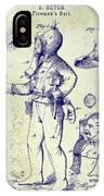 1880 Fireman Suite Patent IPhone X Case