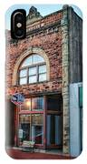 1890 Building Guthrie Ok IPhone Case