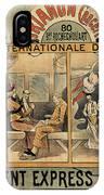 1896 Orient Express Musical Revue Paris IPhone Case