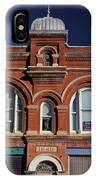 1898 Building Front IPhone Case