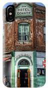 1898 Hotel Connor - Jerome Arizona IPhone Case