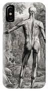 18th Century Anatomical Engraving IPhone Case