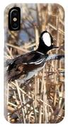 Hooded Merganser IPhone Case