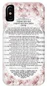 Sukkot-ushpizin Prayer- The Hosts... IPhone Case