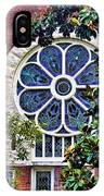 1901 Antique Uab Gothic Stained Glass Window IPhone Case