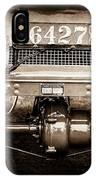 1906 White Model F Roi Des Belges Touring Rear Lamp -0058s IPhone Case