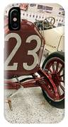 1907 Itala Gran Prix Race Car IPhone Case