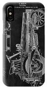 1907 Tractor Blueprint Patent IPhone Case