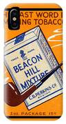 1910 Beacon Hill Pipe Tobacco IPhone Case