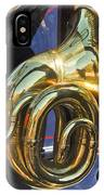 1910 Pope Hartford T Brass Horn IPhone Case