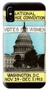 1913 Votes For Women IPhone Case