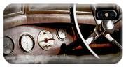 1921 Bentley Steering Wheel -0454ac IPhone Case