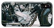 1921 P And M Motorcycle IPhone Case
