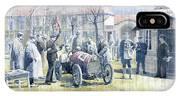 1922 Zbraslav Jiloviste Bugatti T13 Brescia Joan Halmovici Winner  IPhone X Case