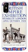 1924 British Empire Exhibition Wembley IPhone Case