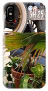 1926 Model T And Plants IPhone Case