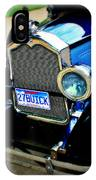 1927 Blue Buick IPhone Case