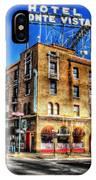 1927 Hotel Monte Vista - Flagstaff  IPhone Case