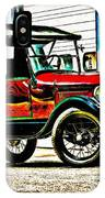 1927 Model T Ford Roadster IPhone Case