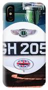 1930 Bentley Speed Six Taillights -0277c IPhone Case
