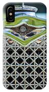 1930 Db Dodge Brothers Hood Ornament And Grille IPhone Case