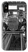 1930 Model T Ford Monochrome IPhone Case