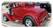 1930 Red Ford Model A-rear-8902 IPhone Case