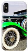 1930 Willys Knight 66b-plaidside IPhone Case
