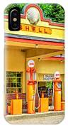 1930s Shell Gas Station IPhone Case