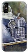 1938 Hispano Suiza J12 IPhone Case