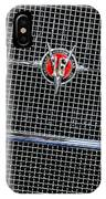 1931 Cadillac Phaeton Grille And Headlights IPhone Case